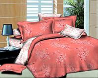 Элементы постельного белья Autumn bouquet L-1585-5 SoundSleep поплин наволочки 50х70 см - 2 шт. red