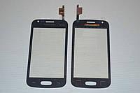 Тачскрин / сенсор (сенсорное стекло) для Samsung Galaxy Ace 3 S7270 | S7272 | S7275 (черный цвет, самоклейка)