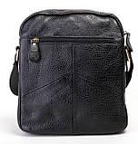 Кожаная мужская сумка. Мужская сумка. Сумка через плечо. Молодёжные сумки. , фото 2