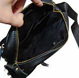 Кожаная мужская сумка. Мужская сумка. Сумка через плечо. Молодёжные сумки. , фото 4