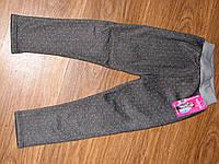 Утепленные лосины (легинсы) на девочек сезон-зима
