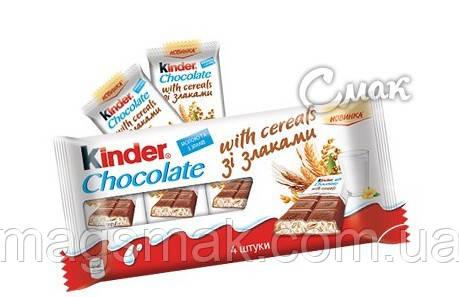 Киндер Шоколад Кантри со злаками плитка 4 шт.  / Kinder Country, 94 г , фото 2