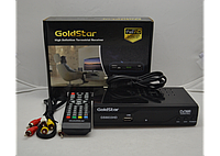 Цифровой эфирный тюнер Т2 Gold Star T-8833