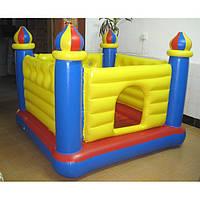 Детский надувной игровой центр - батут Intex 48259 Замок