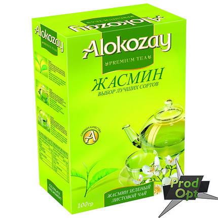 Чай Alokozay зелений з жасмином 100 г, фото 2