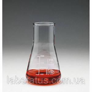 25/300 ml Колба конічна Эрленмейера без шліфа широкогорлая SIMAX, Чехія