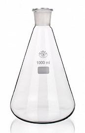 8024/100 ml-14/23 Колба коническая Эрленмейера со шлифом SIMAX, Чехия