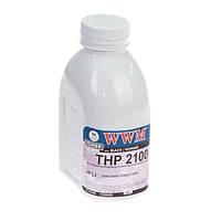 Тонер wwm для hp lj 2100 бутль 240г black (tb36)