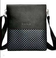 65d44372411a Мужская сумка Zefer. Кожаная мужская сумка. Мужская сумка. Сумка через  плечо. Молодёжные