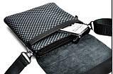 Мужская сумка Zefer. Кожаная мужская сумка. Мужская сумка. Сумка через плечо. Молодёжные сумки. , фото 4