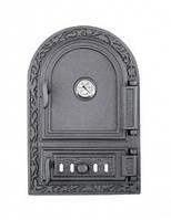 Дверка для печи спареная с термометром (32,5 х 48,5 см/ 41 х 24,5 см)