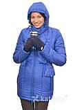 Зимняя куртка для беременных и слингоношения 4в1, цвет-королевский синий, фото 6