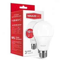 Светодиодная лампа 1-LED-561-P A60 10W 3000K 220V E27 Maxus