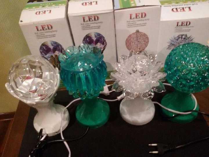 Светодиодный светильник Диско LED лампа