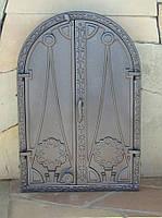 Дверка для печи  (60,5 х 41 см/ 55,5 х 35,5 см)