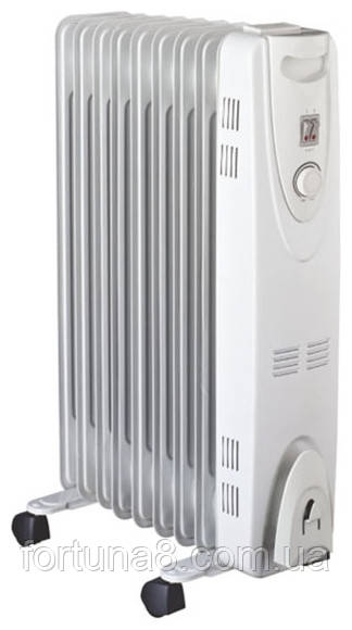 Масляный радиатор VES Electric RG12HO 2500 Вт