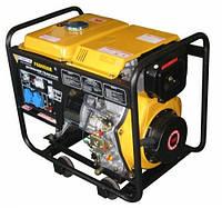 Генератор Forte FGD6500E (4.4-4.8 кВт, 9.0 л.с., дизель, 1 фаза, стартер)