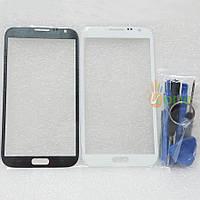 Стекло с рамкой Samsung N7100 Galaxy Note 2 gray
