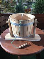 Холодний душ для сауни та бані (дерев'яне відро)