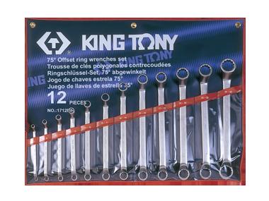 Набор ключей накидных 12 ед. (6-32мм) (в составе ключ 24х27мм)