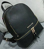 Рюкзак женский брендовый сумка Michael Kors Майкл Корс черный