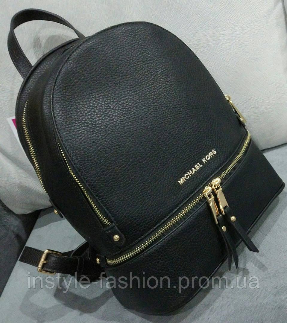 27d1d4bdfd1a Рюкзак женский брендовый сумка Michael Kors Майкл Корс черный - Сумки  брендовые, кошельки, очки