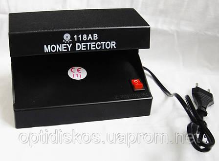 Детектор валют ультрафиолетовый AD-118AB с питанием от сети, фото 2
