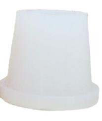 Силиконовый уплотнитель Euroshisha для внешней чаши кальяна, белый