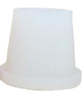 Силиконовый уплотнитель Euroshisha для внешней чаши кальяна, белый, фото 1