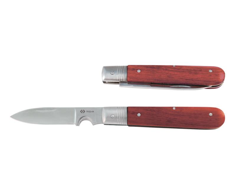 Нож со складным лезвием, длина лезвия 85 мм KINGTONY