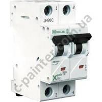 Автоматический выключатель Moeller-Eaton PL6 2п тип С 10А 6 кА 286565