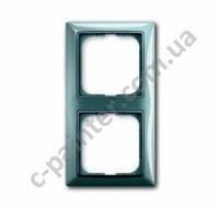 Рамка 2-я Abb Basic 55, 2512-98-507 bistro-синий