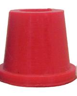 Силиконовый уплотнитель Euroshisha для внешней чаши кальяна, красный