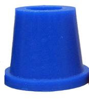 Силиконовый уплотнитель Euroshisha для внешней чаши кальяна, синий