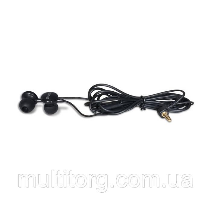 Наушники SVEN SEB-110 вакуумные черные