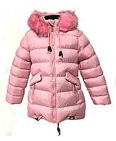 Зимняя курточка на девочку HIKIS размер 116-140