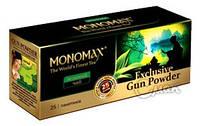 Чай Мономах «Exclusive Gun Powder», зеленый, 25 пак