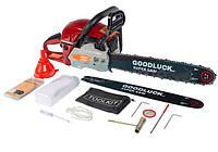 Бензопила Goodluck GLS 5200 Original (2 шины 2 цепи) металлический корпус