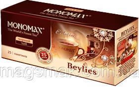 Чай Мономах «Beylies», черный со сливочным ликёром, 25 пак, фото 2