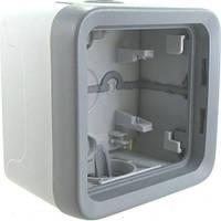 Коробка 1-ная для накладного монтажа Legrand Plexo Серый 69651