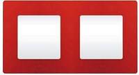 Рамка Etika 2 поста Красный 672532