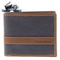 Кошелек Timberland Hunter Passcase Canvas-Leather, Navy