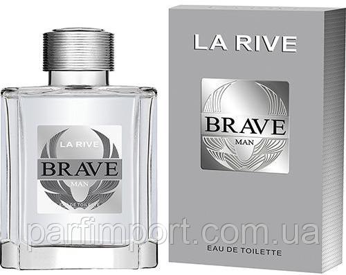 LA RIVE Brave EDT 90 ml туалетная вода мужская (оригинал подлинник  Польша)