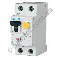 Дифференциальный автоматический выключатель Eaton (Moeller) PFL6 1 p+N, 6А, 30мА, тип С 28646