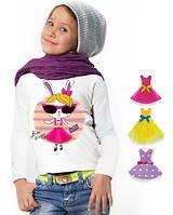 """Лонгслив и 3 сменных платья """"Top Bunny""""; 3, 4, 5, 6-7, 8-9, 10-11, 12-13 лет"""
