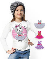 """Лонгслив и 3 сменных платья """"Top Puppy""""; 3, 4, 5, 6-7, 8-9, 10-11, 12-13 лет, фото 1"""