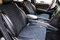 Накидки на сиденья черные. Передний комплект. СТАНДАРТ. Авточехлы