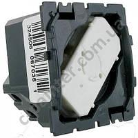 Механизм Выключатель кнопочный без фиксации с НО/НЗ контактом  6А Legrand Celiane 67035