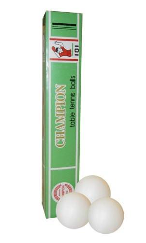 Кулі для настільного тенісу (6шт) MT-2723 CHAMPION  - Спорттовари №1 в Хмельницком