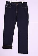 Женские джинсы на флисе больших размеров (код 719), фото 1